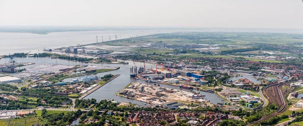 Zukunft des Emder Hafens, Ausblick über Emden